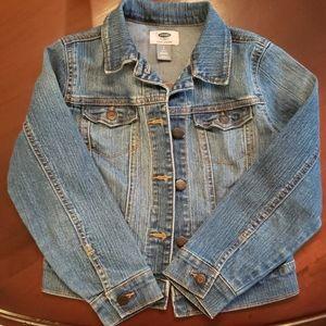 Old Navy girl's jean jacket